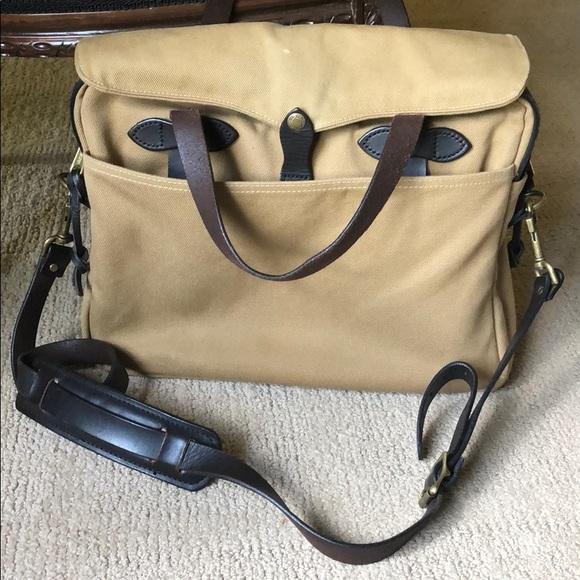 Filson Other - Filson original twill briefcase